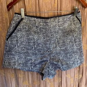 FOREVER 21 SIDE ZIP SHORTS SIZE 6